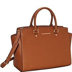 Selma Large Top Zip Satchel Handbag Luggage