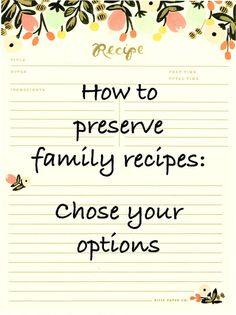 When creating a family cookbook project there are numerous options for printing and duplication. Get it together and chose the option(s) that work best for you. Let's eat. Make Your Own Cookbook, Making A Cookbook, Create A Cookbook, Homemade Cookbook, My Cookbook, Cookbook Recipes, Cookbook Ideas, Homemade Recipe Books, Cookbook Display