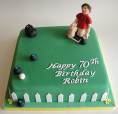 Lawn Bowls by Fays cakes, via Flickr