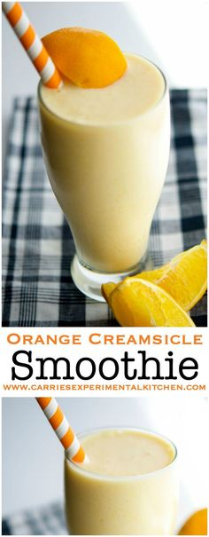 Smoothie This Orange Creamsicle Smoothie is delicious and satisfying enough for breakfast or an afternoon snack.This Orange Creamsicle Smoothie is delicious and satisfying enough for breakfast or an afternoon snack. Fruit Smoothies, Smoothie Proteine, Protein Smoothies, Yummy Smoothies, Breakfast Smoothies, Orange Smoothie, Delicious Smoothie Recipes, Ninja Smoothie Recipes, Vegetarian Smoothies