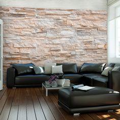 details zu vlies fototapete steinoptik sandstein steinwand 3d tapete tapeten wandbild 3farb - Fantastisch Attraktive Dekoration Fototapete Nach Mas