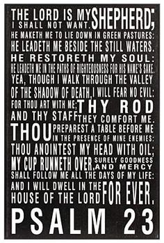#Psalm 23   More at http://ibibleverses.com