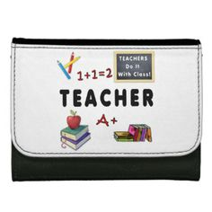 Teachers Wallets and Bags