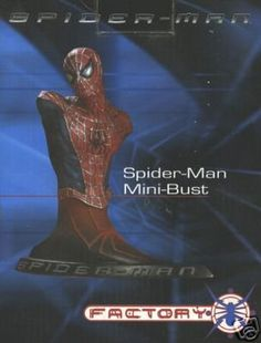 SPIDER-MAN the Movie Mini Bust Statue by Factory X @ niftywarehouse.com #NiftyWarehouse #Spiderman #Marvel #ComicBooks #TheAvengers #Avengers #Comics