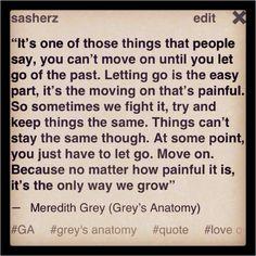 Grey's Anatomy quote.