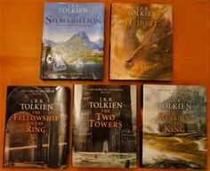 jrr tolkien lord of the rings books