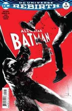 DC Comics - All Star Batman (2016) #5 - Jock Variant