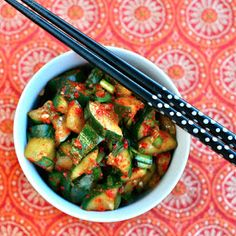 e is for eat: K is for: Kimchi {quick cucumber kimchi}