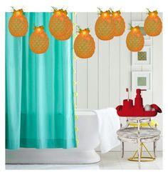 """My Bathroom"" by azmina2010 on Polyvore featuring interior, interiors, interior design, home, home decor, interior decorating, PBteen, Seletti and bathroom"
