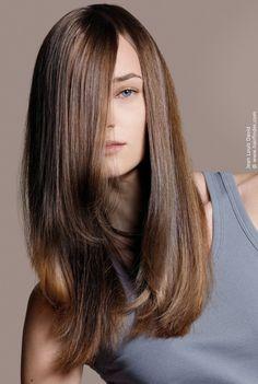 long smooth hair