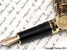 Giant Parker Duofold Fountain Pen