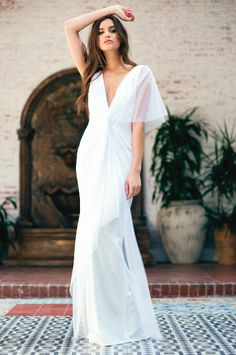 Maribel Gown  #noelandjean #bykatiemay #entrenouscollection #bridal #fashion Photography by Nicole Hill @nicollhill_ , Model: Karina Nicholson @kaarines