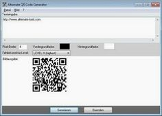 Freeware QR Code Generator - download