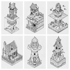 "3,672 Likes, 19 Comments - @thisnorthernboy on Instagram: ""Some recent isometric commissions. Message me if you'd like one.  #isometric #illustration…"""
