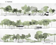 Trendy landscape architecture graphics section Ideas - Trendy landscape arc. - Trendy landscape architecture graphics section Ideas – Trendy landscape architecture graphic - Landscape Architecture Section, Collage Architecture, Architecture Graphics, Landscape Plans, Architecture Drawings, Landscape Diagram, Architecture Diagrams, Architecture Portfolio, Classical Architecture