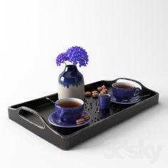 Violet Tea Set