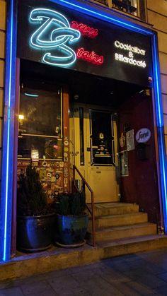 Cocktailbar - Billardcafé Downstairs, Theobaldgasse 15, 1060 Wien ... Neon Signs