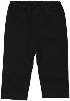 Zutano Unisex Baby Primary Solid Pant Black 6 Months ** Learn more by visiting the image link.Note:It is affiliate link to Amazon.