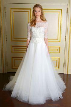 Best in Bridal: Fall 2015  - HarpersBAZAAR.com wedding. gown.