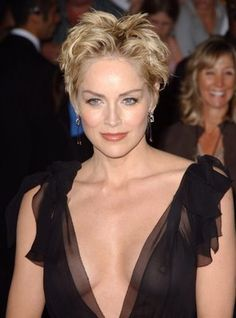 Sharon Stone could also be the older woman.....Maybe the best choice