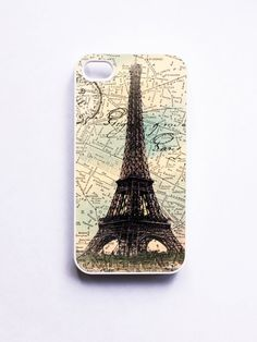 Eiffel Tower Mixed Media iphone Case by onyourcasestore on Etsy, $16.99- I love the eiffel tower..