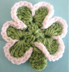Shamrock Free Pattern [FP411] - $0.00 : Maggie Weldon, Free Crochet Patterns