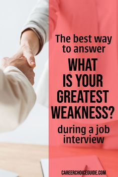 Interview Weakness Question, Strength And Weakness Interview, Tough Interview Questions, Interview Answers, Tricky Questions, Job Interview Tips, Interview Preparation, Job Interviews, This Or That Questions