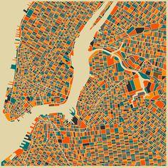 Jazzberry Blues - City Maps