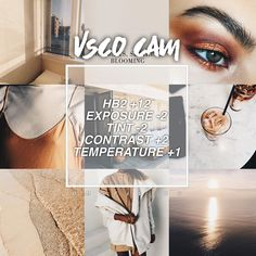 VSCO CAM - Ultimate guide to editing your insta pics! Vsco Filter, Vsco Cam Filters, Insta Filters, Filter Camera, Photography Filters, Photography Editing, Photography Tools, Photography Equipment, Photography Backdrops