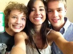 BTS - Maxim, Seychelle and Connor - Falling Skies