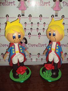 Dareliart: Pequeno Príncipe em Eva 3d - Encomenda da Samanta