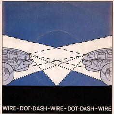 Wire 'Dot Dash' Record Cover