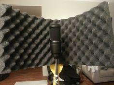 DIY Studio Mic Gobo / Shield