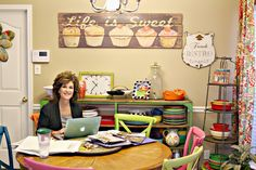 Inspirational Work Space blog by | Show Me Decorating. Creator and entrepreneur blogs about what inspires her and where she creates!