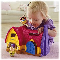 Shop for Little People® Disney Snow White's Cottage and buy something new for your little one to explore. Find the perfect Little People toddler toys right here at Fisher-Price.