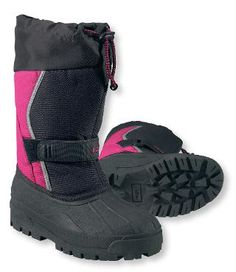 Kids' Northwoods Boots: Boots | Free Shipping at L.L.Bean