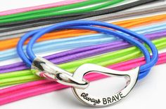 Always Brave Cancer Awareness Bracelet