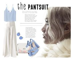 """""""Dash of blue"""" by dzeneta25 ❤ liked on Polyvore featuring Racil, Candie's and MANGO"""