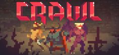 Crawl is the local multiplayer dungeon crawler where your friends control the monsters! Battle through dungeons and power up your hero - if a friend kills you they take your place and it's your turn to inhabit the monsters. It's a race to gain enough XP and loot to take on the hulking final boss!