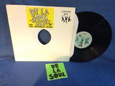 RARE Vintage De La Soul  Me Myself and I / Brain by sweetleafvinyl