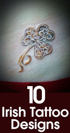 I don't really want an Irish design but that GOLD The post Top 10 Irish Tattoo Designs appeared first on Best Tattoos. Trendy Tattoos, Cute Tattoos, Unique Tattoos, Beautiful Tattoos, New Tattoos, Body Art Tattoos, Small Tattoos, Tattoos For Guys, Tattoo Art