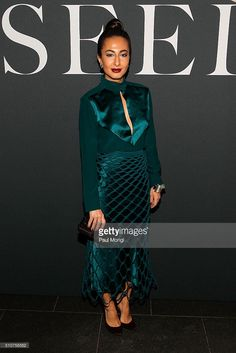 Nausheen Shah attends the Miu Miu Tales 11 screening event during New York Fashion Week at EN Japanese Brasserie on February 16, 2016 in New York City.