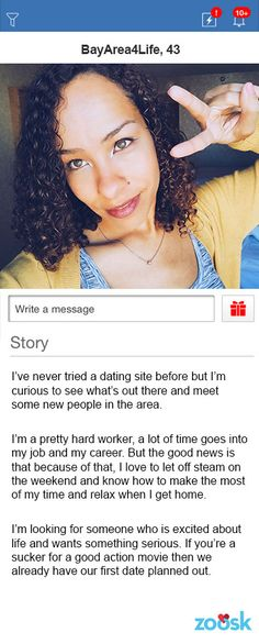 How to write a good message on a dating site