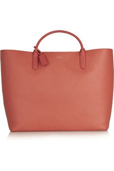 Divine Smythson Panama textured-leather tote | NET-A-PORTER love want need!