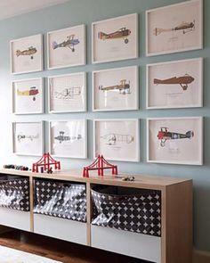 Storage and art ideas