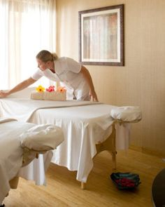 Guests can book treatments at the spa or can arrange services poolside or on their terraces. #Jetsetter #JSSpa