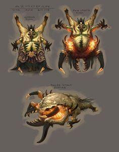 Azmodan Forms from Diablo III