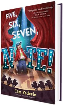 Tim Federle - Five, Six, Seven, Nate! A wonderful follow up to Better Nate Than Never.