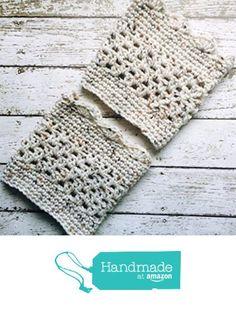 Aran Light Beige Boot Cuffs Crochet Short Calf Leg Warmers Handmade from MoomettesMagnificents https://www.amazon.com/dp/B01JBA9B7W/ref=hnd_sw_r_pi_dp_SdeBybANTGFAY #handmadeatamazon
