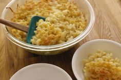 How to Bake a Large Quantity of Macaroni and Cheese for a Group/Crowd of 50  this is very helpful Carol